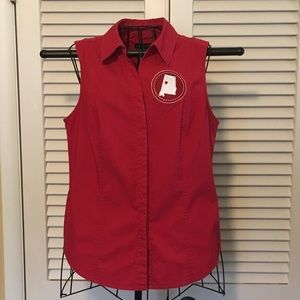 Alabama Custom Woman's Sleeveless Top